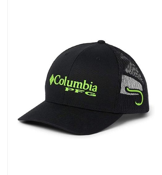Gorra Columbia Pfg Green Mamba Ajustable