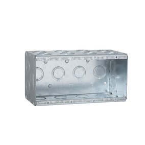 Caja Raco 4-gan Caja Metalica Doble Profundidad Hubell