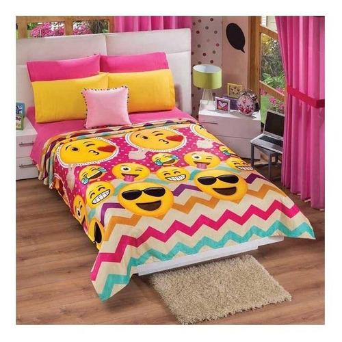 Imagen 1 de 1 de Cobertor Colchas Concord Cobertor ultrasuave 2 plazas/1 plaza Efriends/Pink
