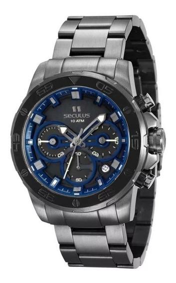 Relógio Masculino Seculus 13016gpsvsa2