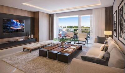Apartamento Com 3 Dormitórios À Venda, 160 M² Por R$ 1.244.000 - Cabral - Curitiba/pr - Ap0701