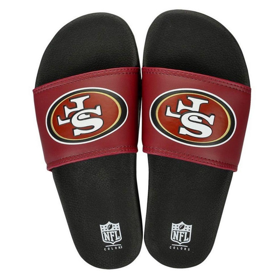 Chinelo San Francisco 49ers Slip On Colors - Nfl
