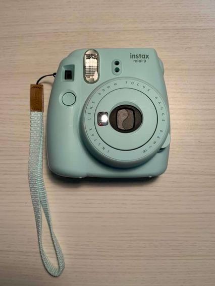 Instax Mini 9 Polaroid Verde Água