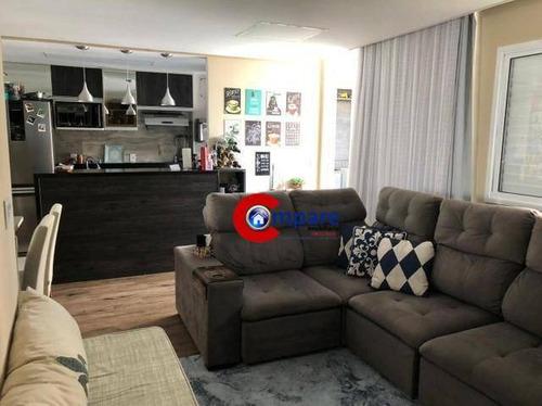 Apartamento Com 2 Dormitórios À Venda, 71 M² Por R$ 450.000 - Macedo - Guarulhos/sp - Ap9709