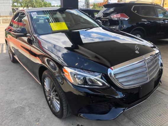 Mercedes-benz Clase C 300 4 Matic Negro 2015