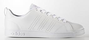 Tenis adidas Juvenil Advantage Clean Vs Bco/cinza
