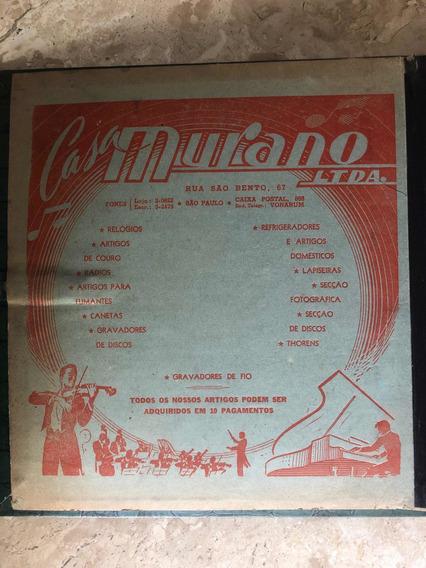 Álbum 12 Lps Raros Anos 50 Casa Murano, Bevilacqua E Estrela