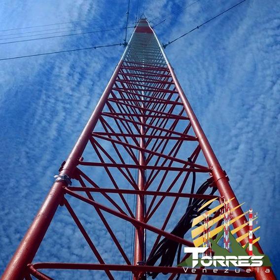 Torres De Aluminio,galvanizado Y Acc Para Telecomunicacione