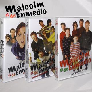 Malcolm El De Enmedio Temporada Uno A La Tres Dvd Reg. 1 Y 4