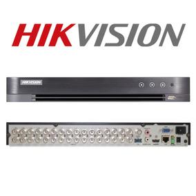 Dvr 32 Ch Full Hd 1080p Hikvision Ds-7232hqhi-k2