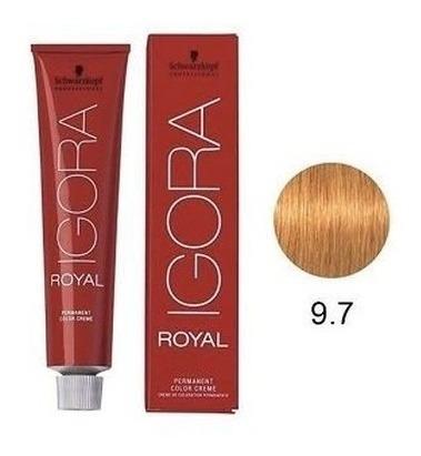 Imagem 1 de 1 de Coloração Igora Royal Louro Extra Claro Cobre 9.7 60ml