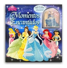 Livro Momentos Encantados - Princesas Disney