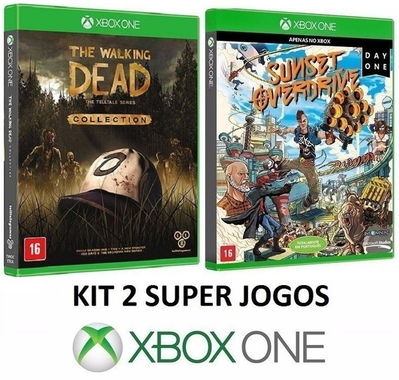 The Walking Dead Collection + Sunset Overdrive - Xbox One