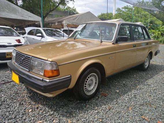 Volvo 244gl Motor 2.4 1982 Dorado 4 Puertas