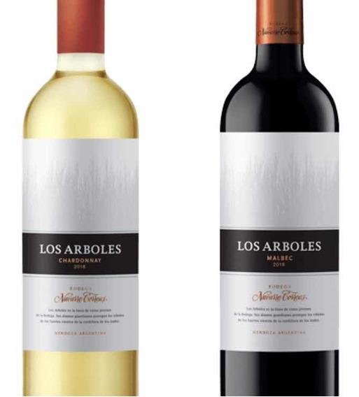Vino Los Árboles 750 Ml Argentino, 6 Unidades Promo 12 + 1