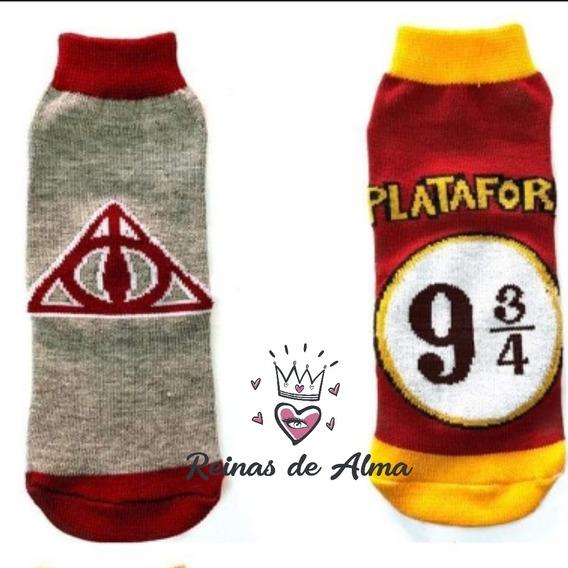 Medias Soquetes Harry Potter Gryffindor - Pack X 2 Unidades