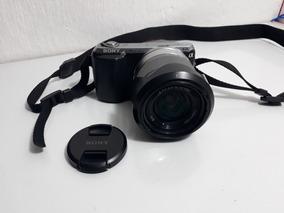 Câmera Sony Nex-c3 16 Mpx Com Acessórios E Nota Fiscal