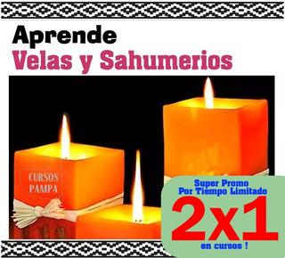 Curso Elaboracion Velas Sahumerios Jabones Lava
