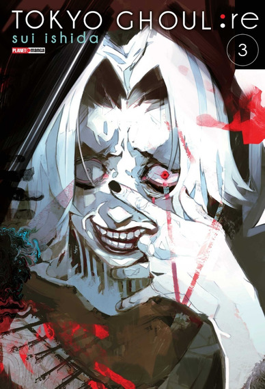 Tokyo Ghoul Re 3! Mangá Panini! Lacrado! Novo!