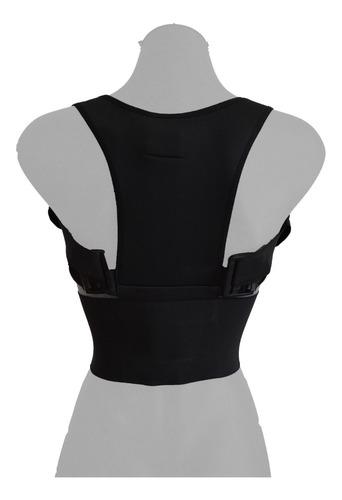 Imagen 1 de 4 de Chaleco Corrector Postura Faja Unisex Cuida Espalda Galess
