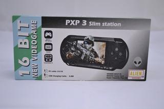 Consola Sega De Juegos Portatil Alien 16 Bits Con Juegos