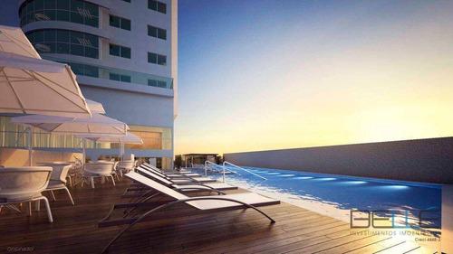 Apartamento Com 4 Dormitórios À Venda, 131 M² Por R$ 3.050.000,00 - Centro - Balneário Camboriú/sc - Ap0109
