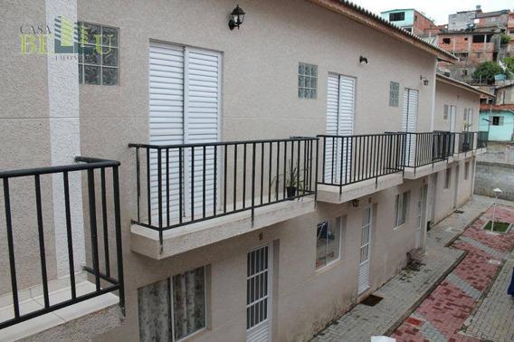 Casa Com 2 Dormitórios À Venda, 55 M² Por R$ 180.000 - Jardim Silvia - Francisco Morato/sp - Ca0066