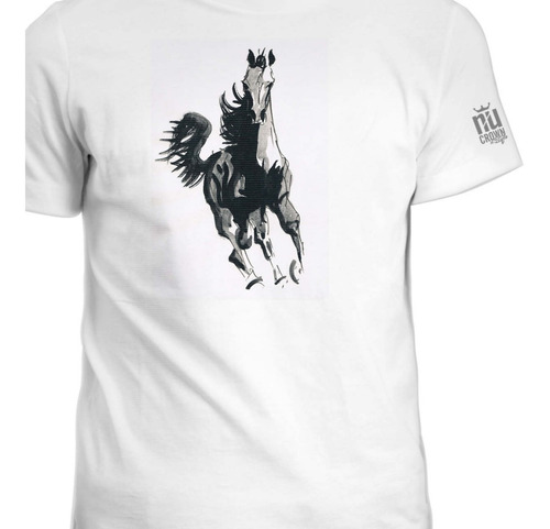 Camisetas Hombre Mujer Caballo Inp Ink 1