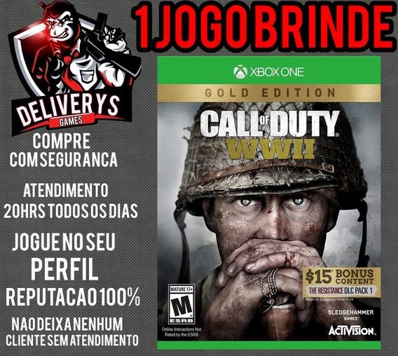 Call Of Duty Ww2 Xbox One Midia Digital+ 1 Brinde