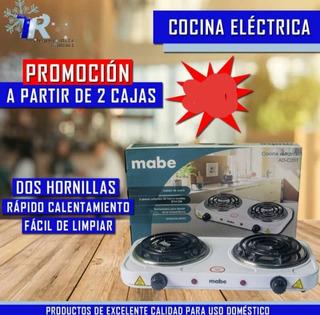 Cocina Electrica De 2hornilla Mabe Original