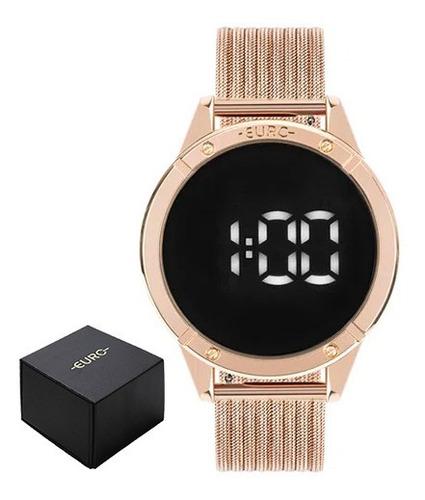 Relógio Euro Fashion Fit Touch Feminino Rosé Eubj3912ab/4f