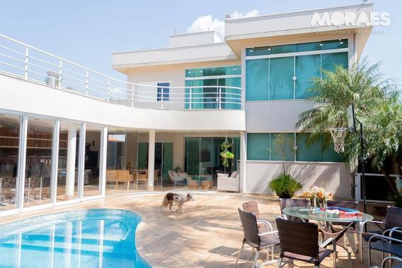 Casa Alto Padrão Com 4 Suítes À Venda, 560 M² Por R$ 1.700.000 - Samambaia Parque Residencial - Bauru/sp - Ca1400