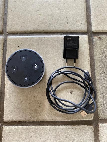 R$ 180 Amazon Echo Dot Alexa Voice 2ª Geração - Preto