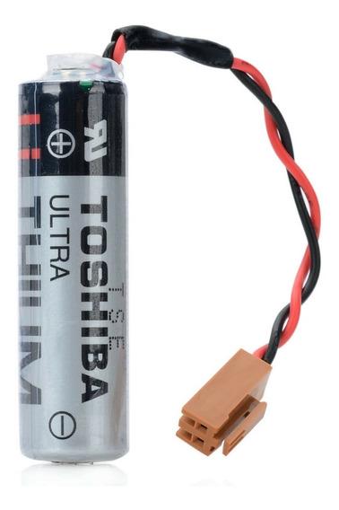 Er6v 3.6v Toshiba Bateria De Plc Con Terminal