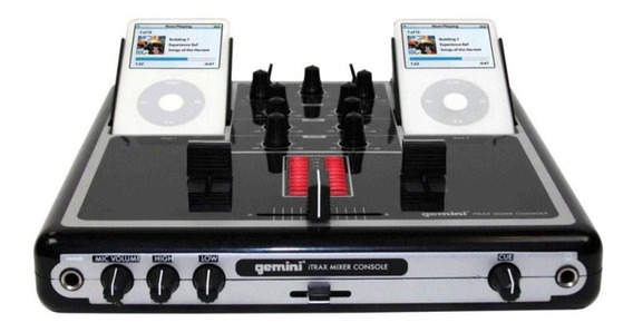 Mixer Gemini Itrax Para iPod **n.o.v.o**