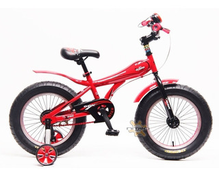 Bicicleta Sbk Fat Bike Hunter Rodado 16 Dama Varon Colores