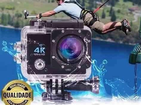 Câmera De Ação 4k Esportiva Prova D
