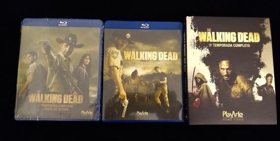 The Walking Dead - 1a, 2a E 3a Temporadas - Bluray