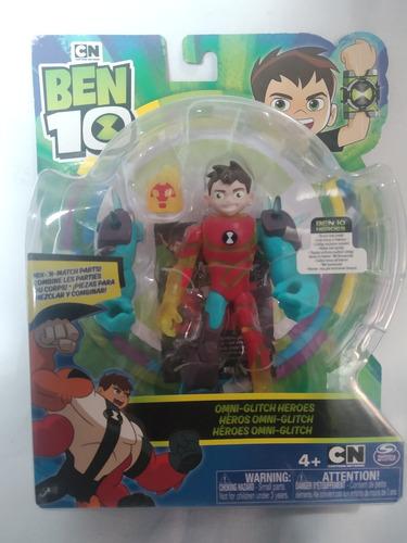 Ben Tennyson Combinado Fuego Y Shock Alien Ben 10 Playmates