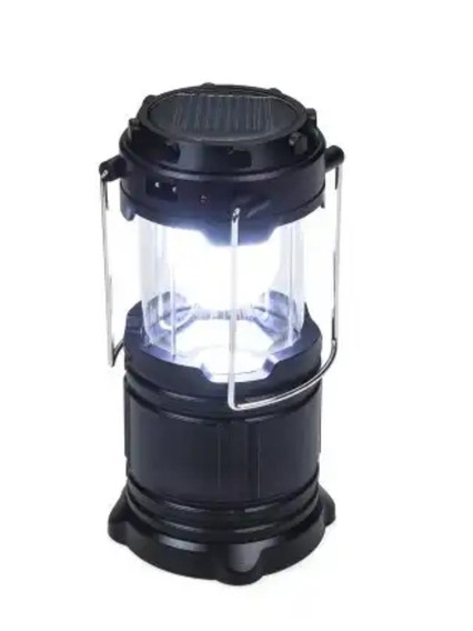 Lanterna Recarregável Com Luz Do Sol