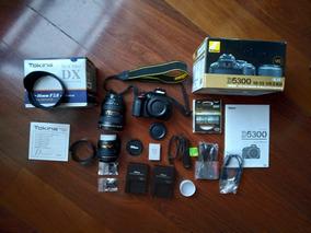 Nikon D5300 + Lente 18-55mm Vrii + Lente Tokina 11-16mm 2.8