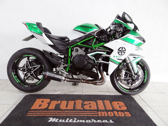 Kawasaki Ninja H2 Branca
