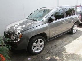 Jeep Compass Limited 4x2 Cvt Plata 2012