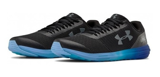 Tenis Under Armour 3 020470 005 Black/royal/pitch Gray Bgs S