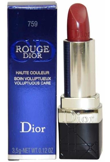 Dior Rouge Labial 759 Pink Extase Larga Duración Hidratante