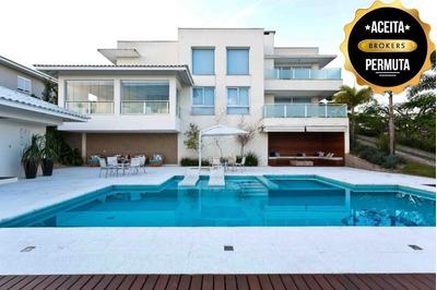 Sobrado Com 4 Dormitórios À Venda, 690 M² Por R$ 4.500.000 - Ville Chamonix - Itatiba/sp - So0412