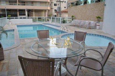 Apartamento Residencial À Venda, Vila Tupi, Praia Grande.casa,kit,cobertura,imoveis No Litoral - Ap0020