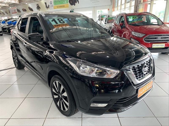 Nissan Kicks Kicks 1.6 Sl Flexstart X-tronic - Preta - 2018