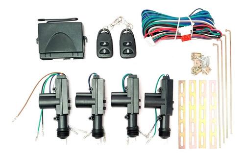 Kit Cierre Centralizado Con Control Remoto Universal 4 Ptas