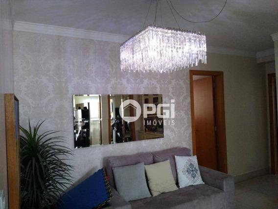 Apartamento Com 3 Dormitórios À Venda, 124 M² Por R$ 640.000,00 - Santa Cruz Do José Jacques - Ribeirão Preto/sp - Ap4100